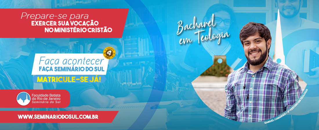 5610 - STBSB - Campanha 2020.3 -Bacharel em teologia. Banner Site